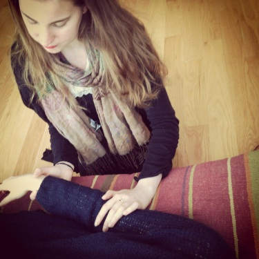 Emily facilitating a session
