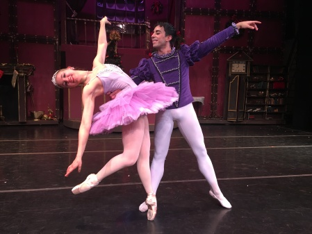 Emily Anton and Roberto Lara The Nutcracker